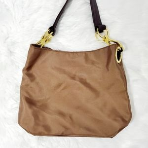 Braciano Women's Brown with Gold Bag